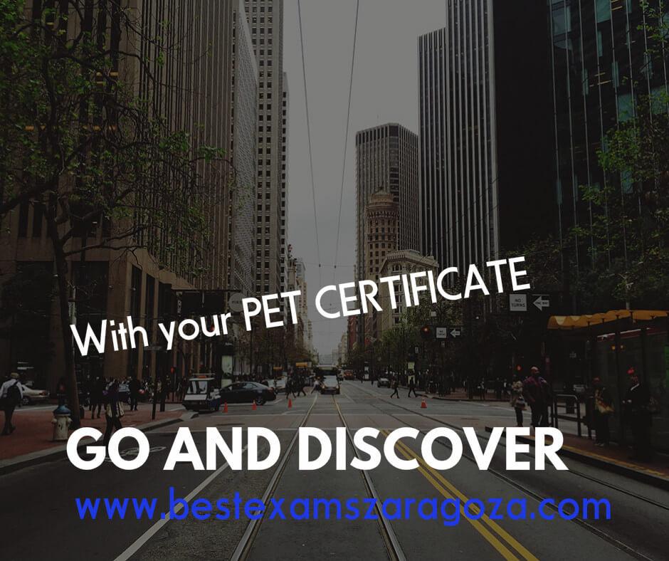 Pet Cambridge Certificate B1 Bestexamszaragoza.com