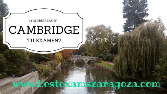 Prepara tu examen de Cambridge en Cambridge