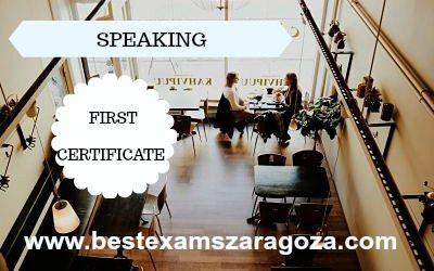 El Speaking en el examen First Certificate