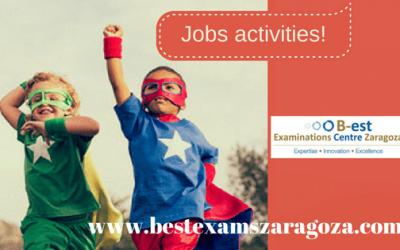 Actividades en inglés y juegos de rol relacionados con las profesiones