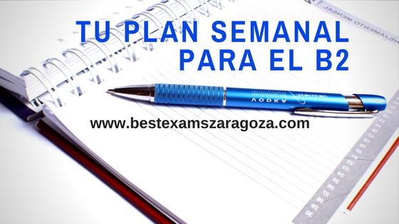 Planifica tus clases de preparación de B2 gratis online