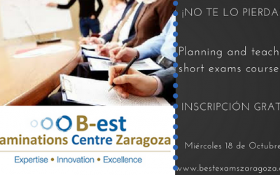 Seminario para profesores: Planning and Teaching Short Exams Courses