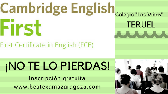 Seminario para profesores: Preparing for Cambridge English/First – Writing and Speaking