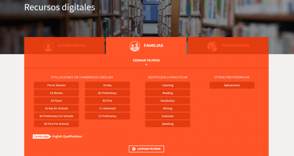 Recursos gratis examen cambridge